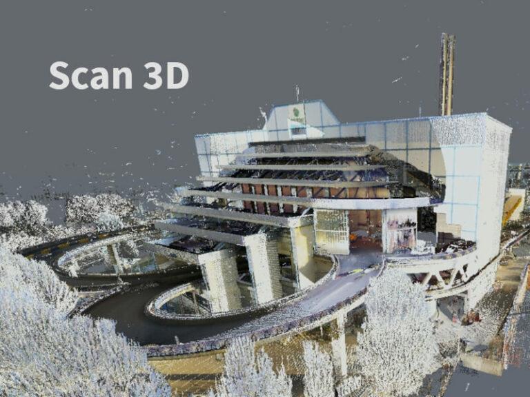 scan-3D Setrel Géodétection des réseaux